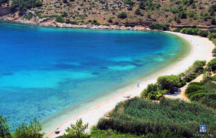 Elinda Beach . Chios island