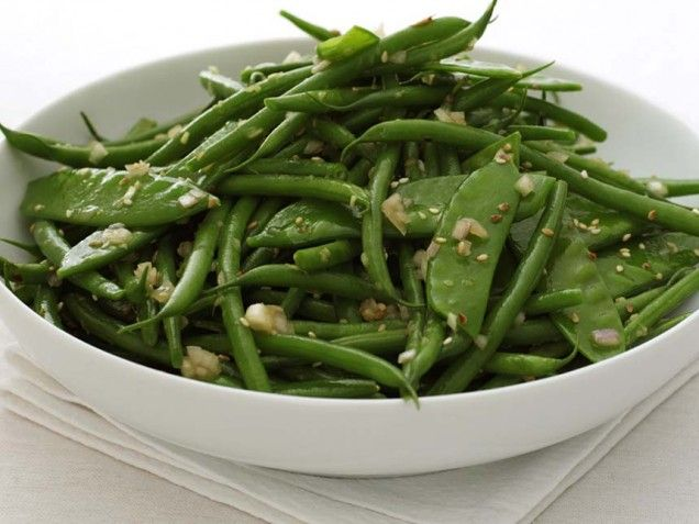 "Warm Green Bean Salad Recipe courtesy of ""The Illustrated Kitchen ..."