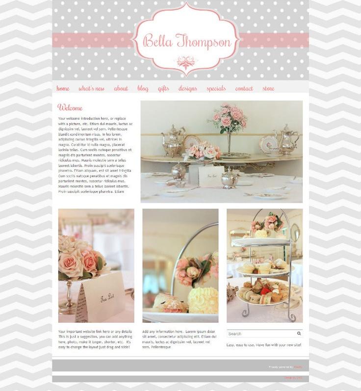 boutique website designs