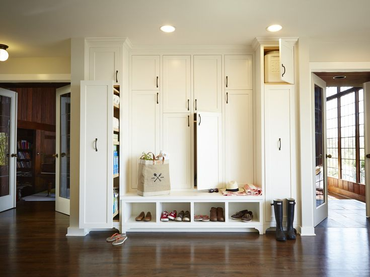 hall tree storage bench Entry Traditional with coat cabinets entry cabinets furniture-style inset doors