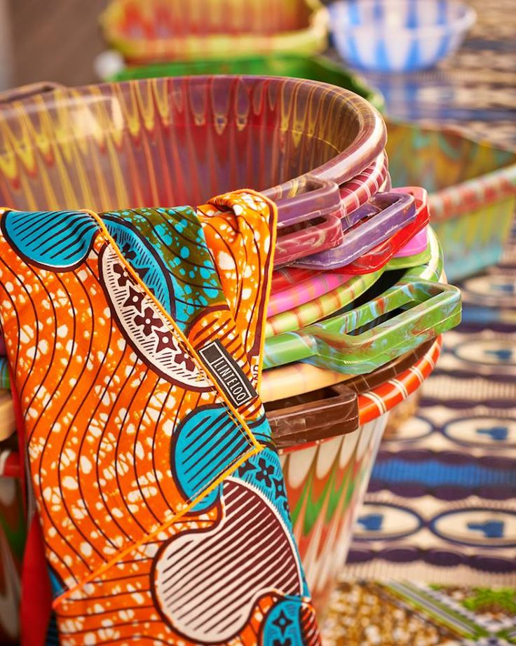 Home accessories from the Afroitalian collection from Linteloo