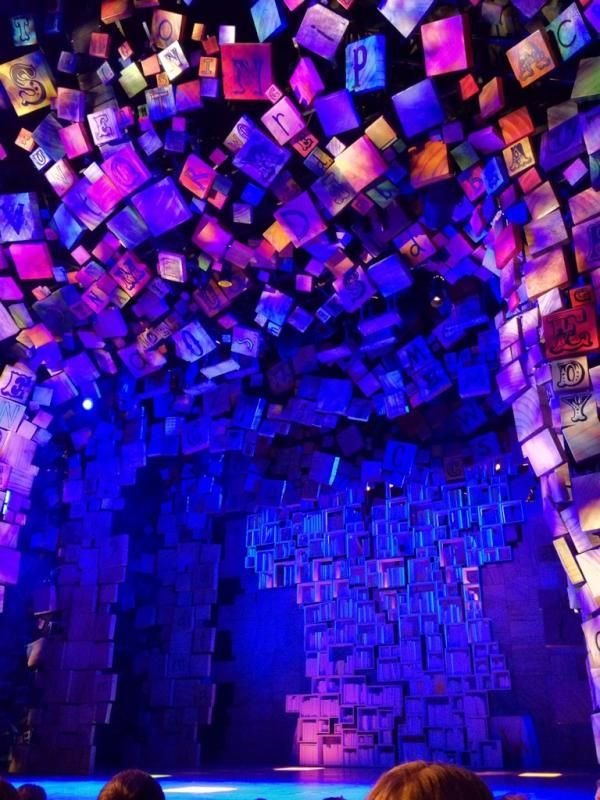 Matilda the Musical, New York production Set & costumes: Rob Howell Lighting: Hugh Vanstone
