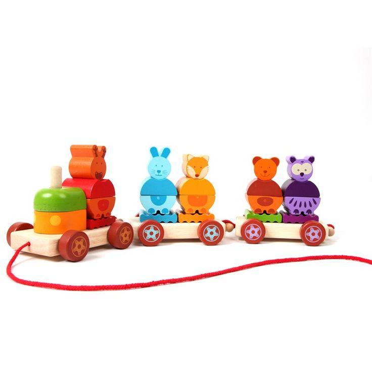 Le Train des animaux de la forêt - 24,95 €