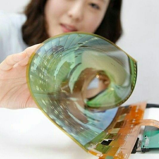 Rollable TVs?