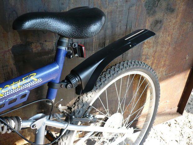 diy bike fender
