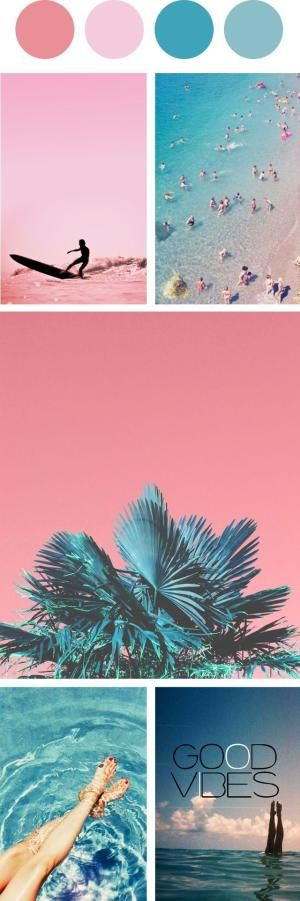 This color palette is really pretty. I like how all of the colors are used in different ways in each photo. by whitney