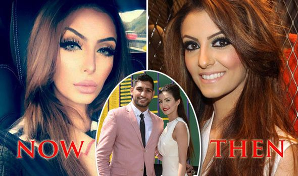 Boxer Amir Khan wife Faryal Makhdoom Before and After Pics - HD Photos