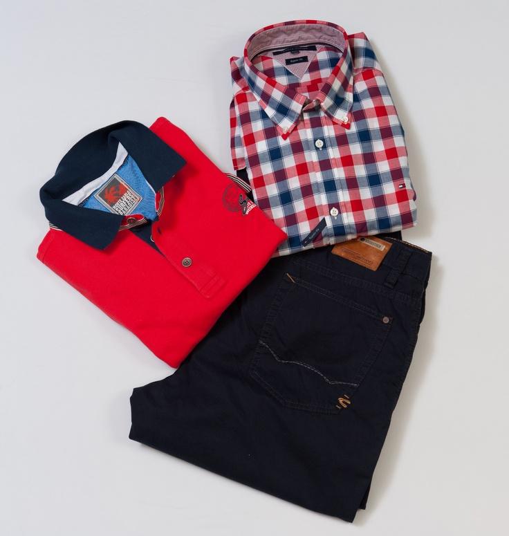 Truien, overhemden en jeans. Verschillende merken te vinden bij Schomaker Mannenmode. Specialist in grote maten herenmode in Emmer-compascuum