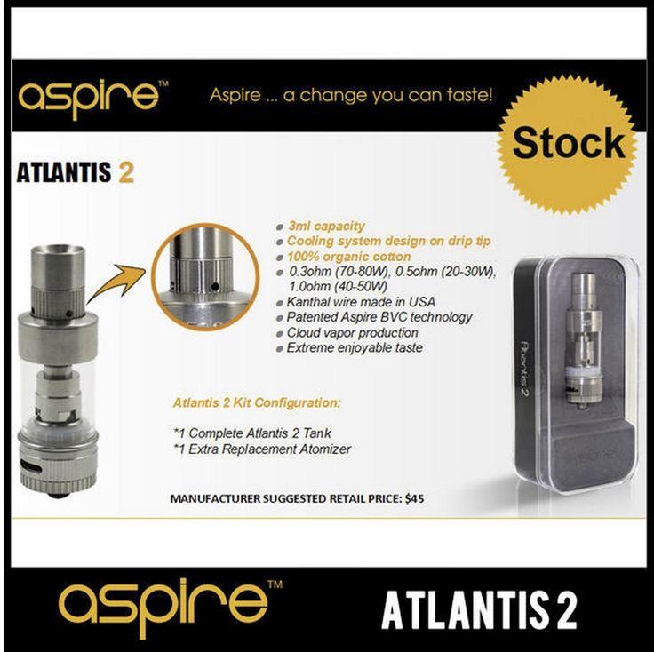 Cuecig - Aspire Atlantis V2 Sub-Ohm Tank Lowest Price, $22.50 (http://cuecig.com/sub-ohm-starter-kits/aspire-atlantis-v2-sub-ohm-tank-lowest-price/)