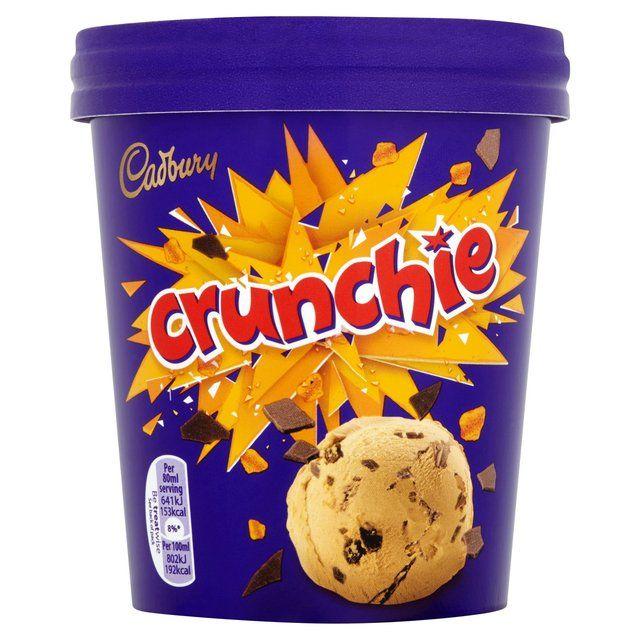 Cadbury Crunchie Ice Cream Cadbury Crunchie Cadbury Ice