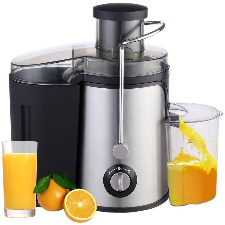 New Electric Fruit Juicer Machine Vegetable Juice Citrus Extractor Maker Blender #Unbranded