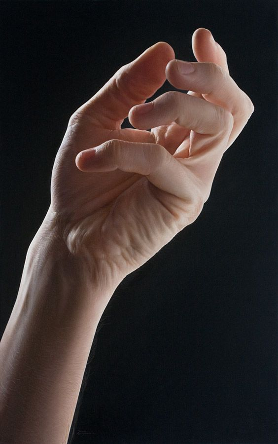 "ARTIST: Javier Arizabalo ~ ""Mano1009"" (oil on canvas)"