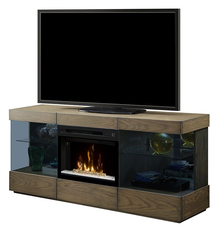 The new Axel Media Console comes in a Raked Sand finish: GDS25GD-1583RS #Dimplex #fireplace