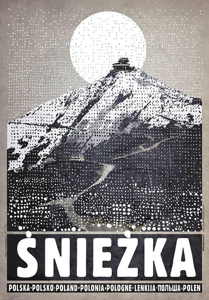 Ryszard Kaja, Polska - ŚNIEŻKA, 2015, Size: B1
