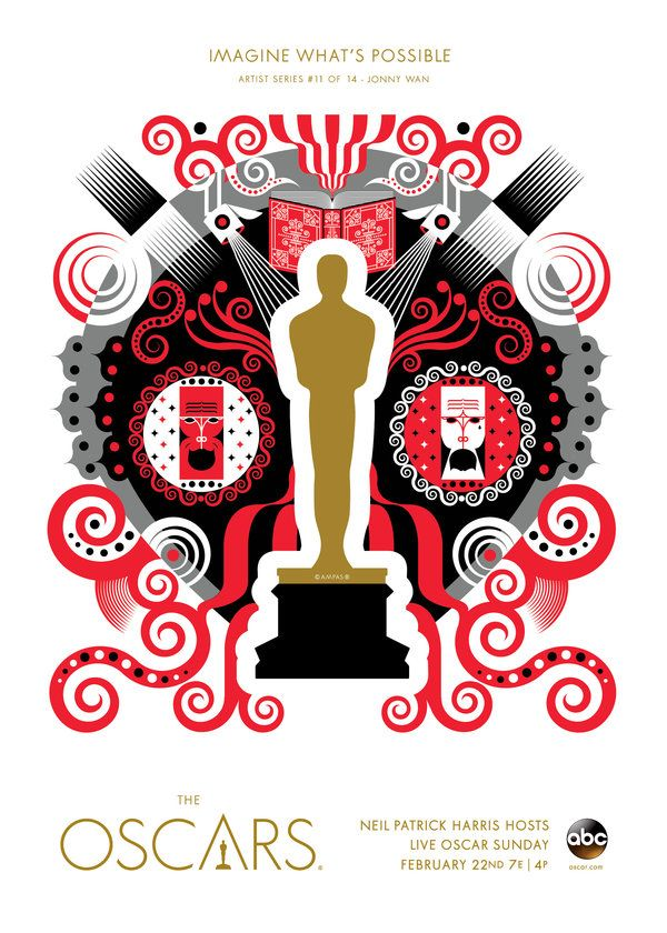 "Oscars 2015 ""Imagine What's Possible"" Artist Series: Jonny Wan, United Kingdom"