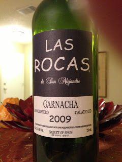 Las Rocas de San Alejandro Garnacha 2009 - Wine on the Dime - Southern