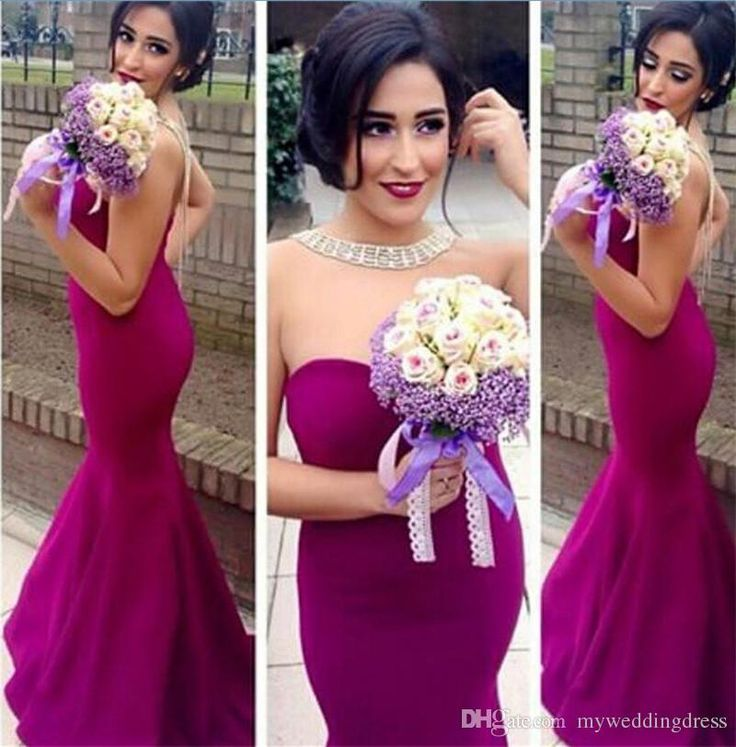 Princess 2016 Arabic India Cheap Fuschia Bridesmaid Dresses Sweetheart Wedding Party Gowns Long Plus Size Backless Formal Bridesmaids Dress