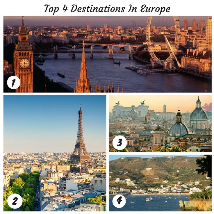 Did you know that #TripAdvisor - Travellers' Choice Awards has listed these as the best destinations in Europe, awarded by millions of real travellers. 1 - London, United Kingdom 2 - Paris, France 3 - Rome 4 - Crete, Greece Travel to these destinations with Travco Holidays' attractive tour packages and explore the world. Visit us at http://www.travcoholidays.com/leisure-main.html to know more.