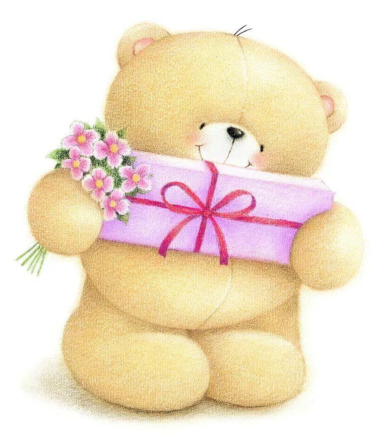 Картинки с медвежатами с днем