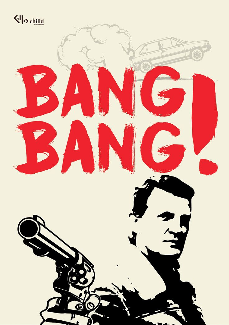 Bang Bang ! #graphicdesign #poster #chilid #design #values #designagency