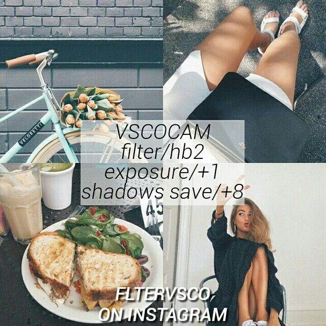 VSCO Cam Filter Settings for Instagram Photos | Filter HB2