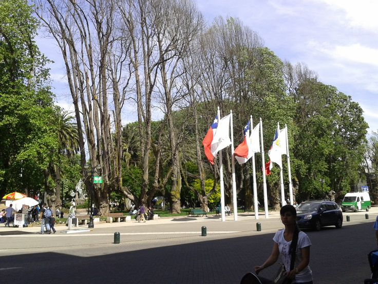 plaza de Temuco, Región de la Araucanía, Chile