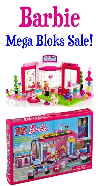 Barbie Mega Bloks Sale!  {check some gifts off the list!} #thefrugalgirls