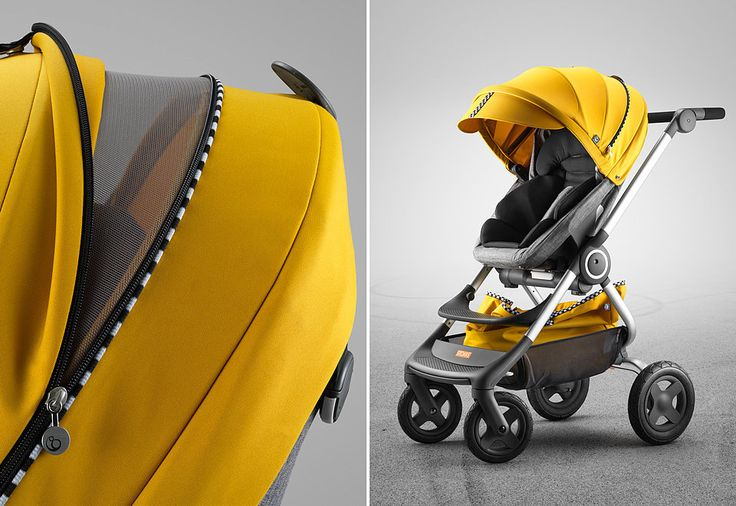 Best Products For Babies and Kids March 2016 | POPSUGAR Moms | Featuring Stokke Scoot Stroller with Yellow Racing Style Kit