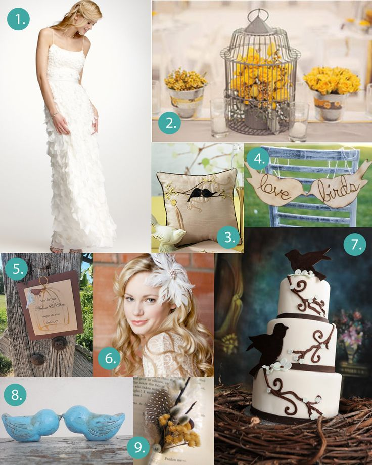 18 Best Wedding Images On Pinterest Love Birds Wedding Bird