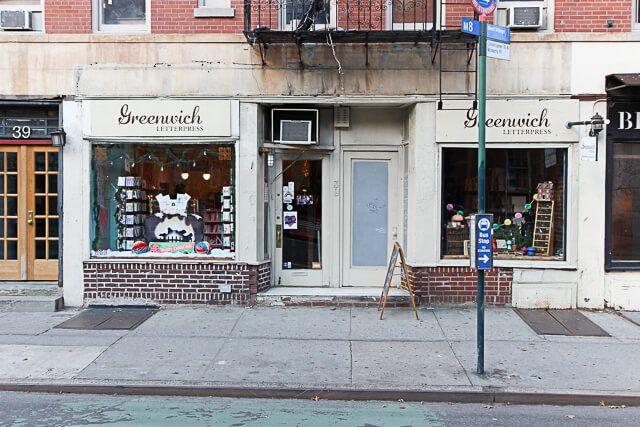 Greenwich Letterpress NYC