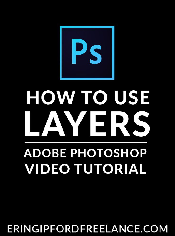 If you've been struggling with how to use layers in Adobe Photoshop, than you have come to the right place. I'll show you what you need to know so you can use layers efficiently and effectively!  Adobe Photoshop Tutorial | How To Use Layers in Photoshop | Graphic Design Tutorial
