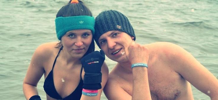Dawcą zdjęcia są Gdyńskie Morsy :)  Fot. Ola Skibowska