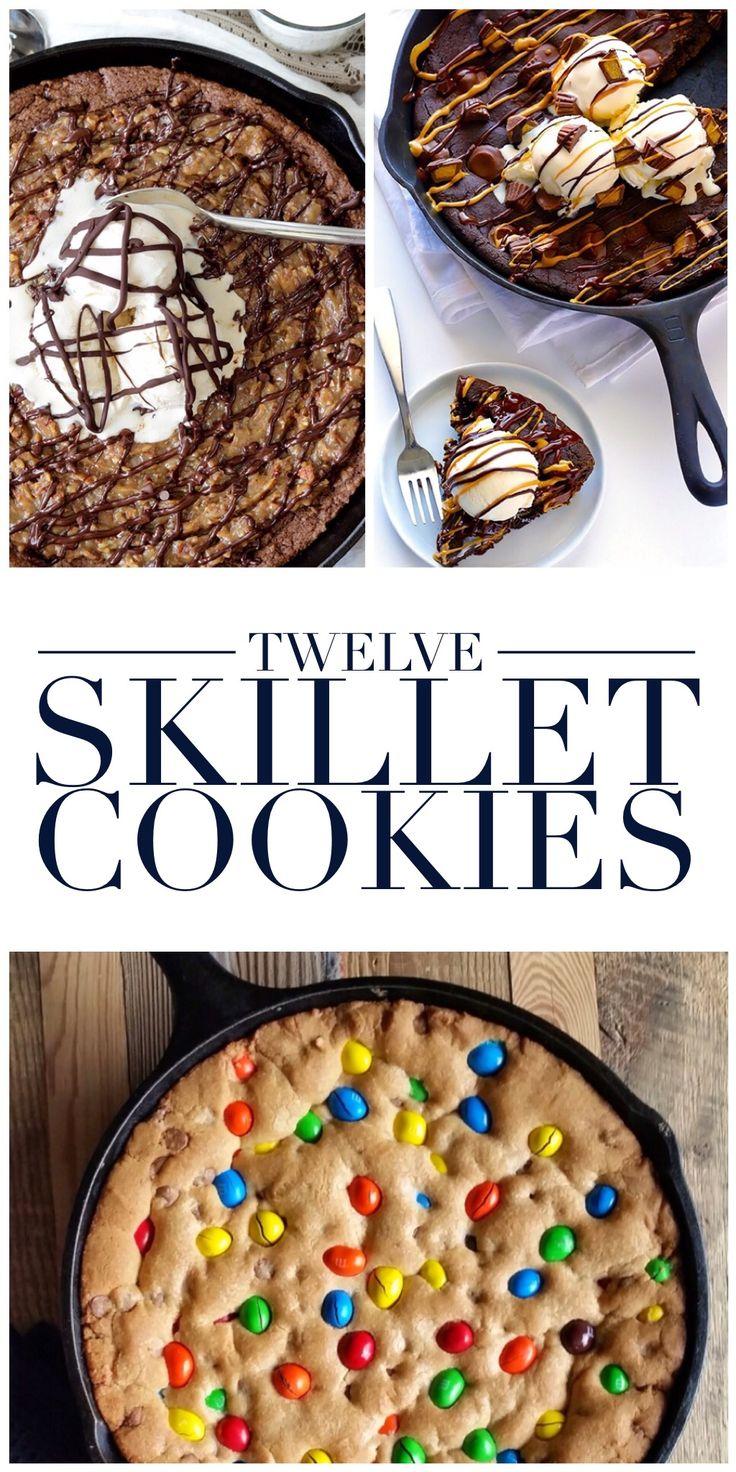 12 Skillet Cookies
