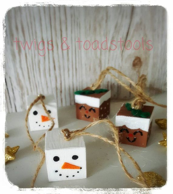 Christmas Tree Hangiesrustictwiggy By TwigsandToadstools On Etsy · Christmas  DecorationsChristmas Trees