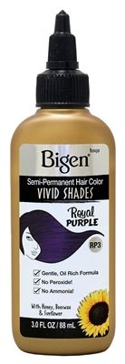 RP3 Royal Purple Semi-Permanent Hair Color - <br /> Vivid Shades! <br /> RP3 Royal Purple Tinte Semi-Permanente - <br /> Color Intenso!
