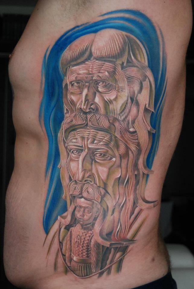 Tattoo by Piotr Wojciechowski, D3XS, Gliwice, Poland #slavic #pagan https://www.facebook.com/d3xs.tattoo.orchestra/photos/a.177726618929547.30925.171113032924239/411371865565020/?type=3&theater