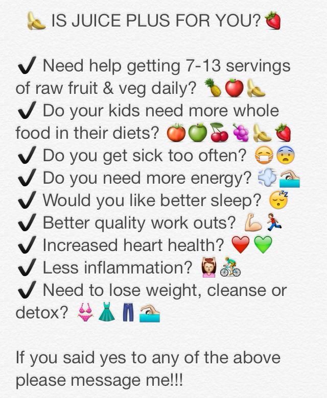 The right serving to power your body,Juice Plus offers the ...