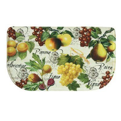 Bacova Standsoft Botanical Fruit Memory Foam Indoor Kitchen Mat - 78774