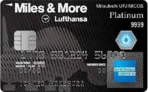 Miles & More Lufthansa   American Express   MUFGカード プラチナ・アメリカン・エキスプレス・カード