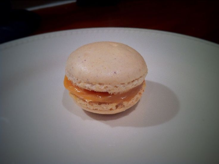 Salted Caramel Hazelnut Macarons