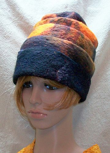 Wool Felt Hat, by Suzanne Higgs: