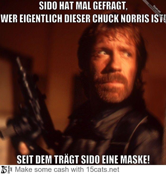 Sido Hat Mal Gefragt Wer Eigentlich Dieser Chuck Norris Ist