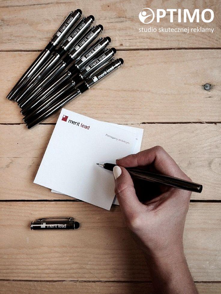 Notes z logo firmy