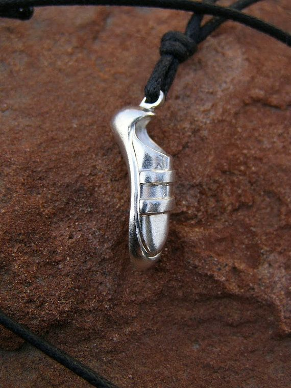 #Climbing Shoe Necklace #Bouldering Shoe by #CocoClimbingJewelry #klettern schuh