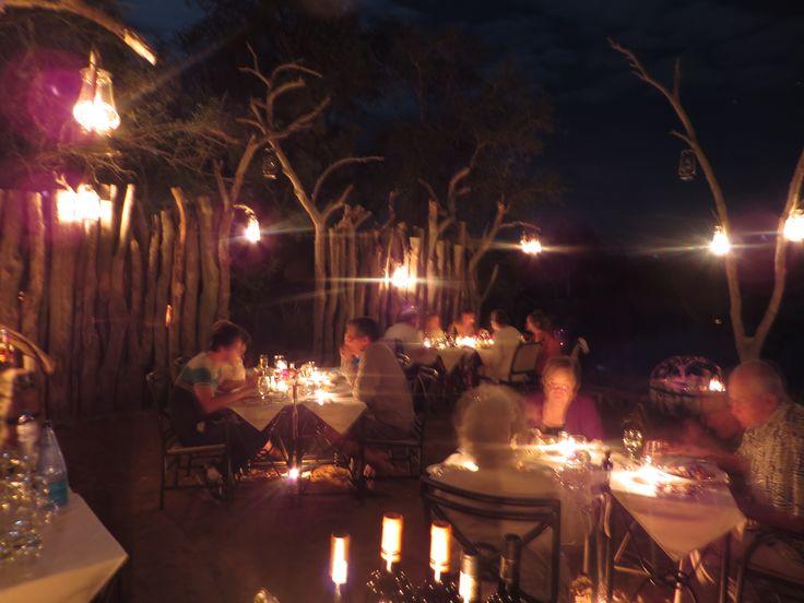 Boma dinners at Camp Jabulani