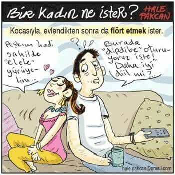 Bir kadın ne ister? :) #flört #sevgi