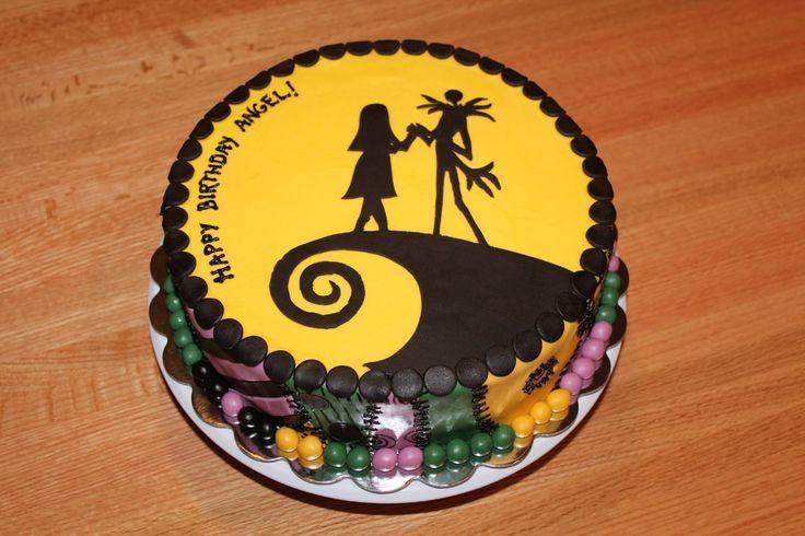 Nightmare Before Christmas Birthday Cakes | sally nightmare before christmas cake a 10 gluten free chocolate cake ...