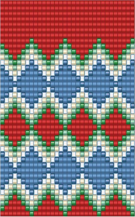 Diseño original de woolly & stitched mochila wayuu o pieza en tapestry crochet