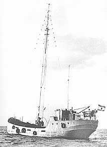 MV Lucky Star: D.C.R. & Radio Mercur 1962