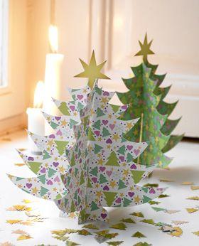 Vælg mellem hvide og grønne juletræer- eller gå ind for lidt variation i skovvæksten...